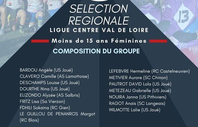 Selection régionale F15