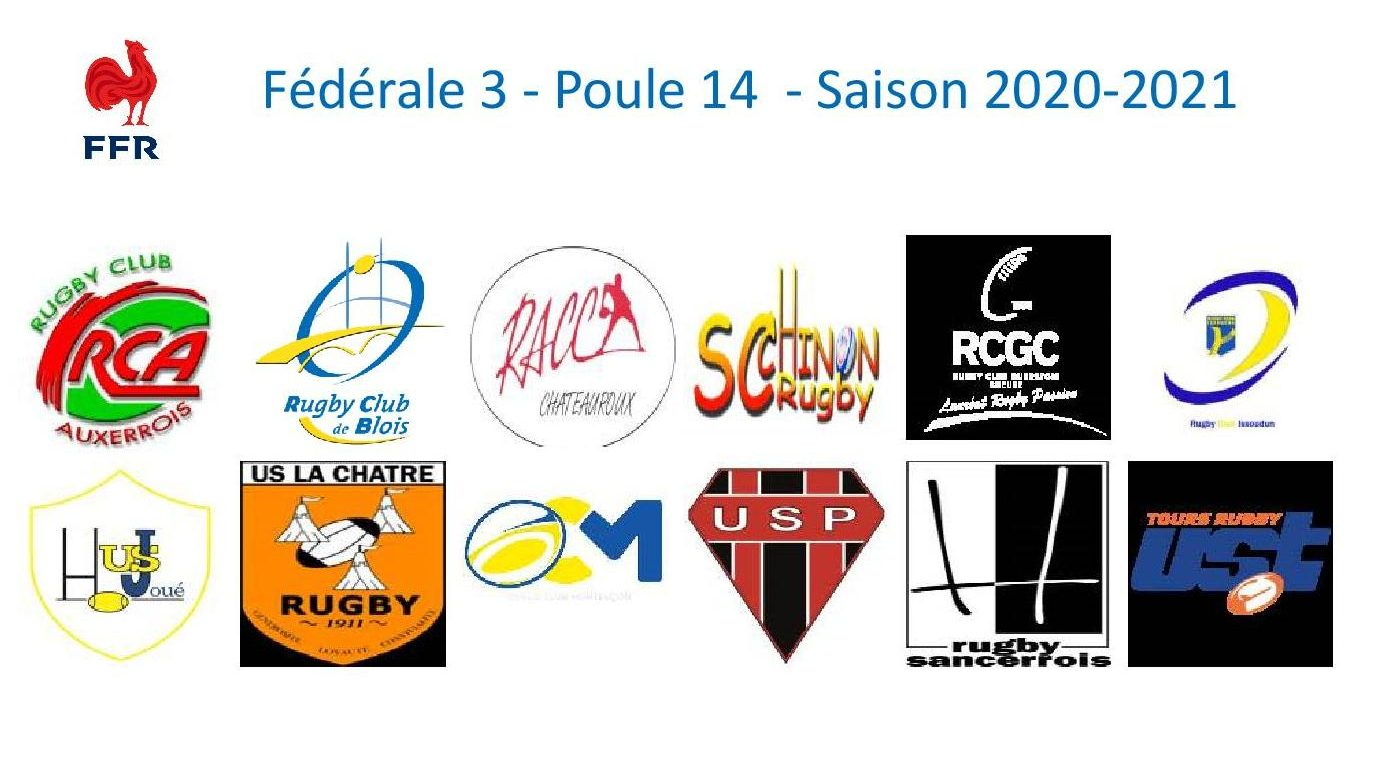 Découvrez les dernières actualités des clubs de la poule du RC Blois pour la saison 2020-2021