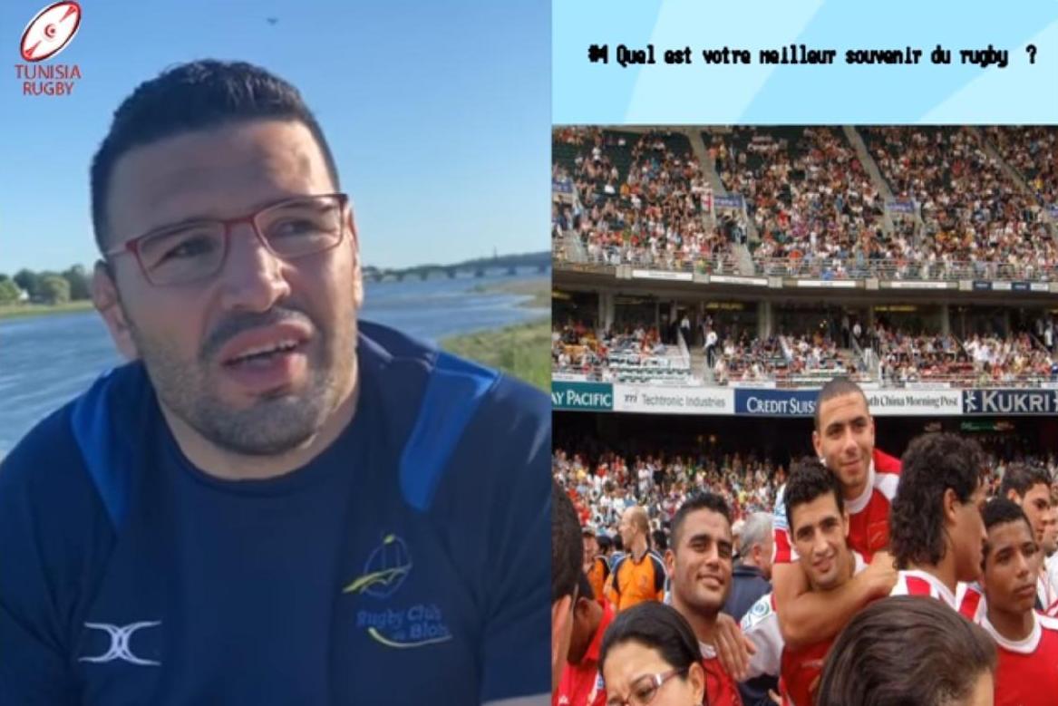Découvrez la superbe carrière rugbystique de Khaled ZEGDENE