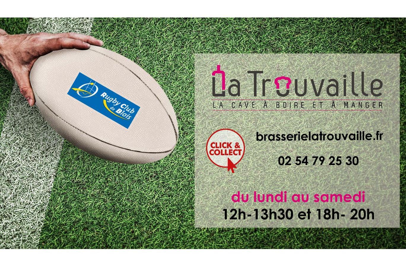 La Brasserie La Trouvaille continue de cuisiner du lundi au samedi, midi et soir !
