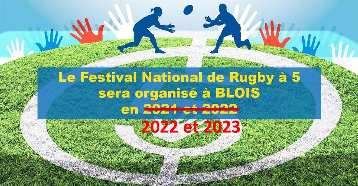 Annulation des finales nationales de rugby à 5 de Blois les 3 et 4/07/2021