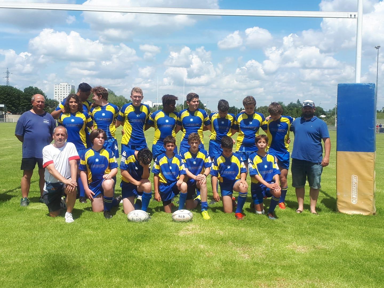 Les M14 du Rugby Club de Blois gagnent leurs trois matchs à JOUE
