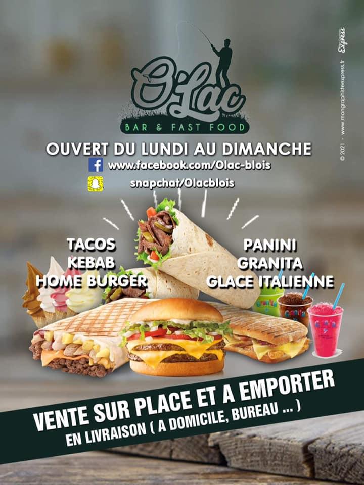 O'LAC vous accueille au lac de la Pinçonnière à Blois