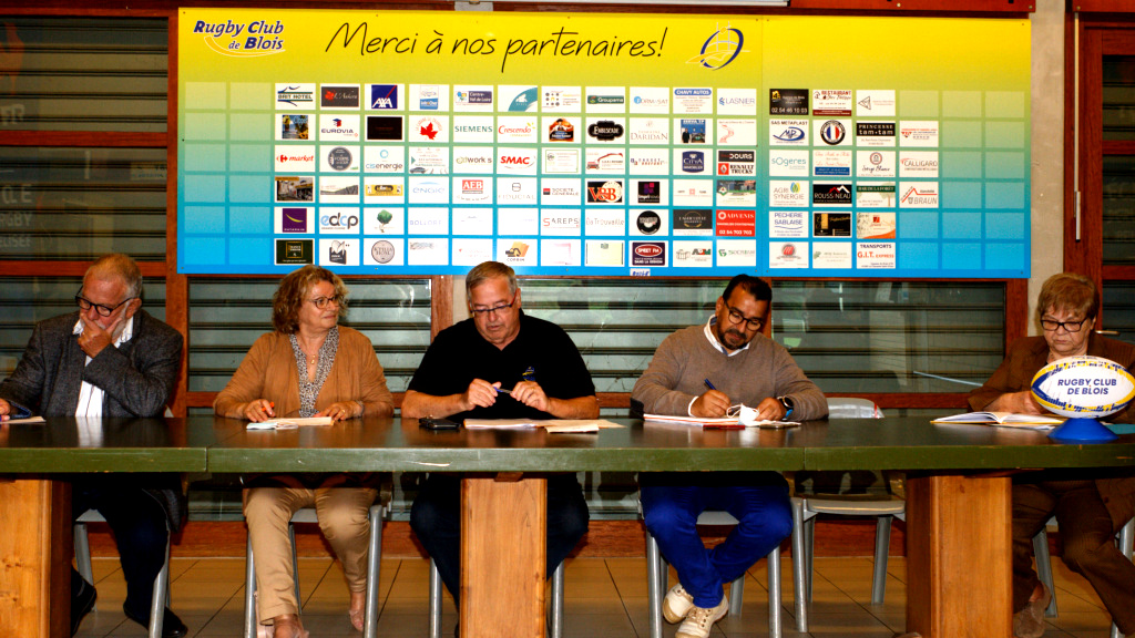 Le Rugby Club de Blois a réuni son Assemblée Générale