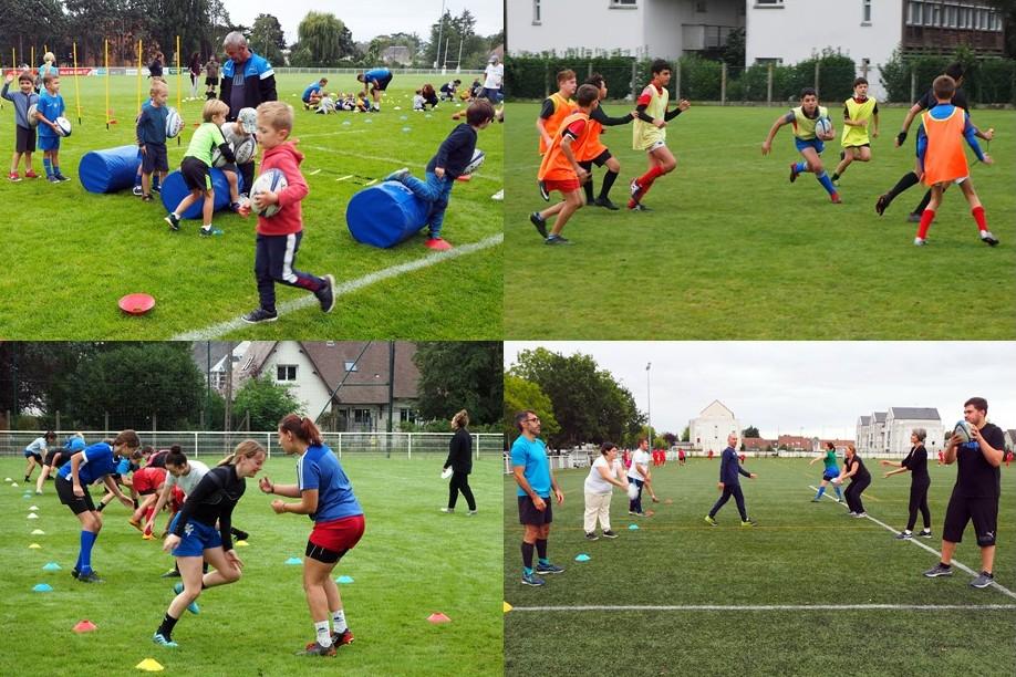 Multi activités ce samedi au stade Saint Georges du Rugby Club de Blois !