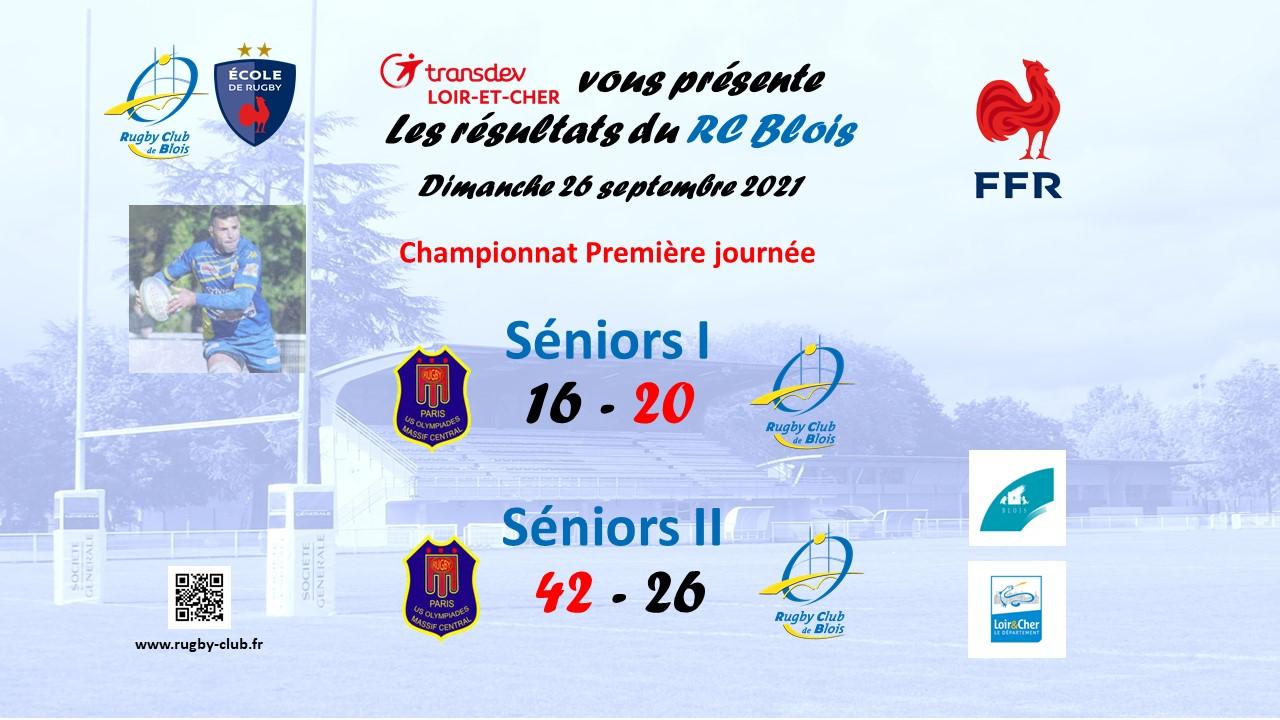 NR :  Le RC Blois conjure le mauvais sort